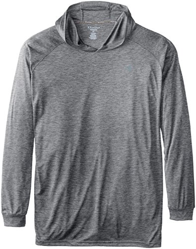 Champion Men's Big-Tall Powertrain Hooded T-Shirt, Charcoal Heather, X-Large/Tall (Power Cool Champion compare prices)