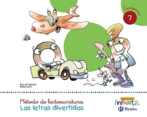 Las letras divertidas Pauta Cuaderno 7 - 9788469611500