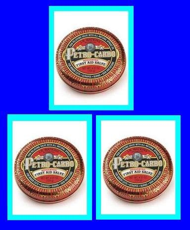 J.R. Watkins Apothecary Petro-Carbo Medicated First Aid Salve (Three Pack) 4.37oz by Watkins
