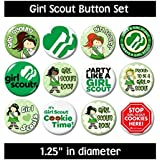 GIRL SCOUT BUTTONS pins badges scouting cookies