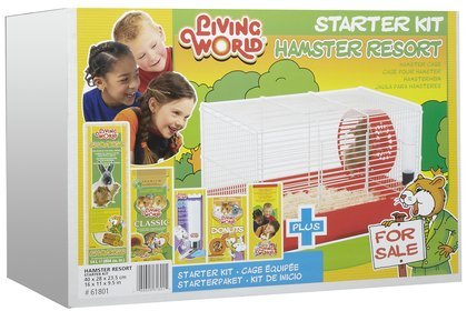 Living World Hamster Resort Starter Kit