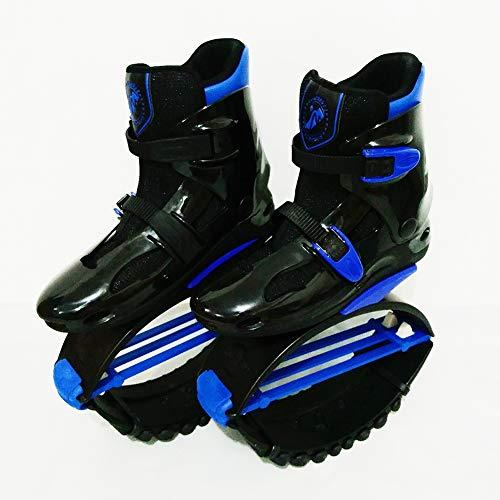 FBEST Rebound Shoes Kangoo Jumps Women Men Anti-Gravity Running Boots Bounce Shoe Jumping,Blue,L