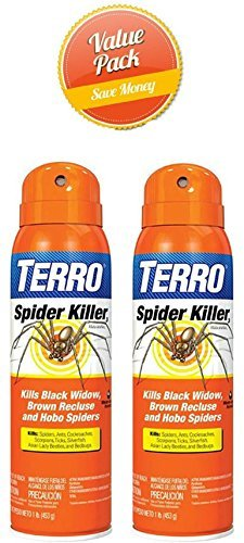 TERRO T2302 Spider Killer Spray, 2 - Spider Recluse