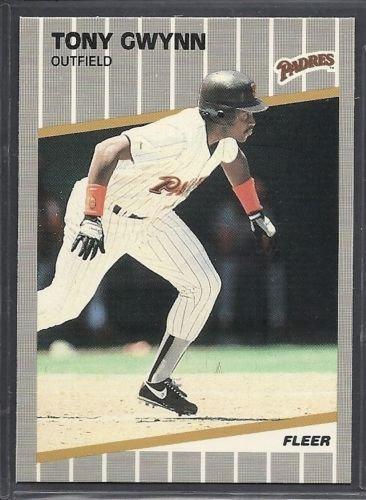 - 1989 Fleer San Diego Padres Baseball Cards Team Set Tony Gwynn