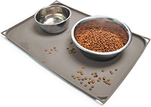 Gosmol Dog Food Mat XL (24x16) or L (20