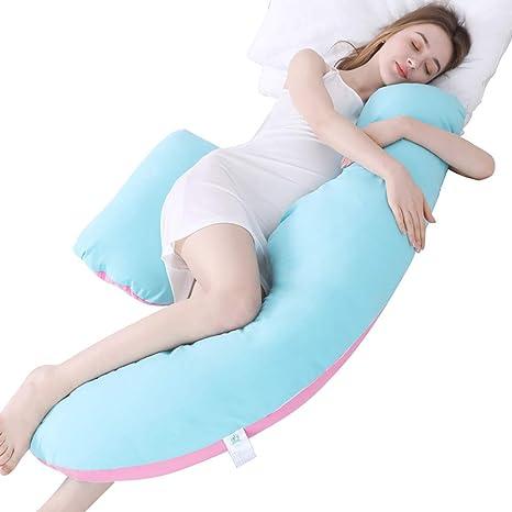 Cojín de maternidad en forma de U para la cintura, almohada ...