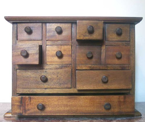 Apothecary Spice Jewelry Chest