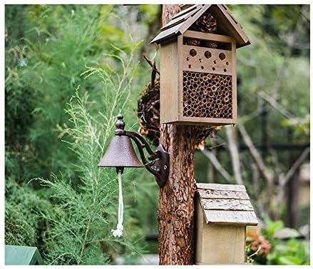 SYGF Casa para Insectos de Jardín Pequeña, Madera, y Gancho para ...