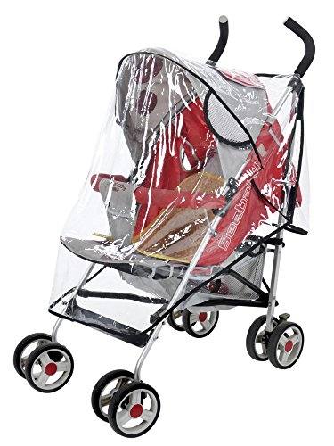 Simplicity Waterproof Baby Stroller Rain Cover Wind Weather Shield for Protector