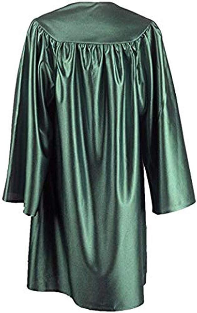 TOPTIE Unisex Shiny Preschool and Kindergarten Graduation Gown Choir Robe for Baby Kids