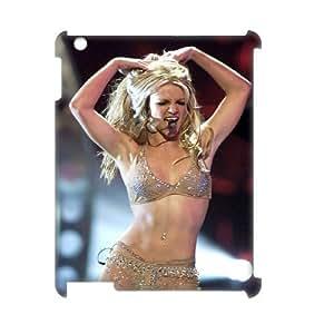 C-EUR Britney Spears Pattern 3D Case for iPad 2,3,4