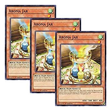 (Yu-Gi-Oh! 【3 Pieces Set】 English Version MP16-EN071 Aroma Jar Aroma Pot (Normal) 1st Edition)