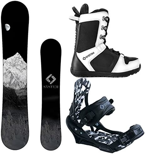 System 2020 MTN and APX Complete Men s Snowboard Package