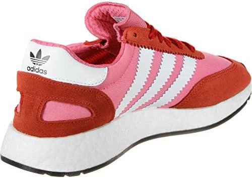 adidas I-5923 W Chaussures,Chalk Pink-footwear White-bold Orange,41.5 EU