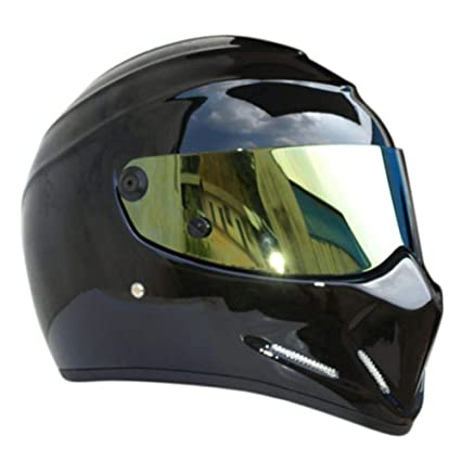 Alien Integral Helmet with Visor for Honda // Yamaha // Suzuki // Kawasaki Off-Road Racing League/&Co Motorcycle Helmets Bandit Helmet. Motocross