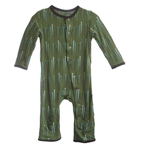 Kickee Pants Toddler Boy Moss Green Pants New Size 12-18 Months