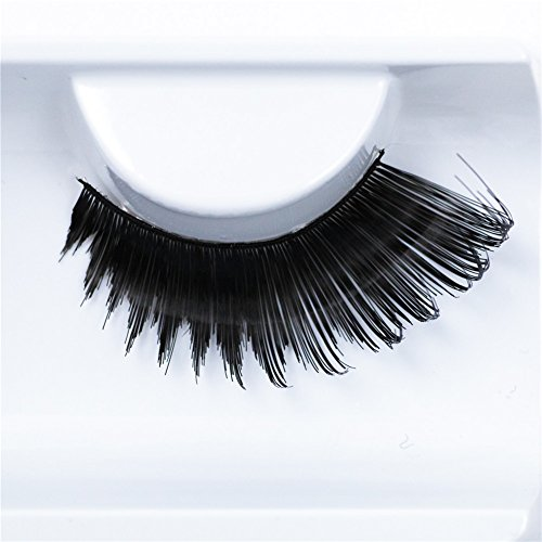 Makeup Cosplay (IMSTYLE Elegant Thick Long Black Drag Queen Eyelashes False Eye Lashes Extensions for Costume Cosplay Stage Makeup Pack of 2)