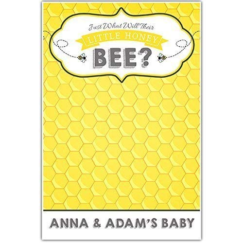Little Honey Bee Baby Shower Guestbook Poster