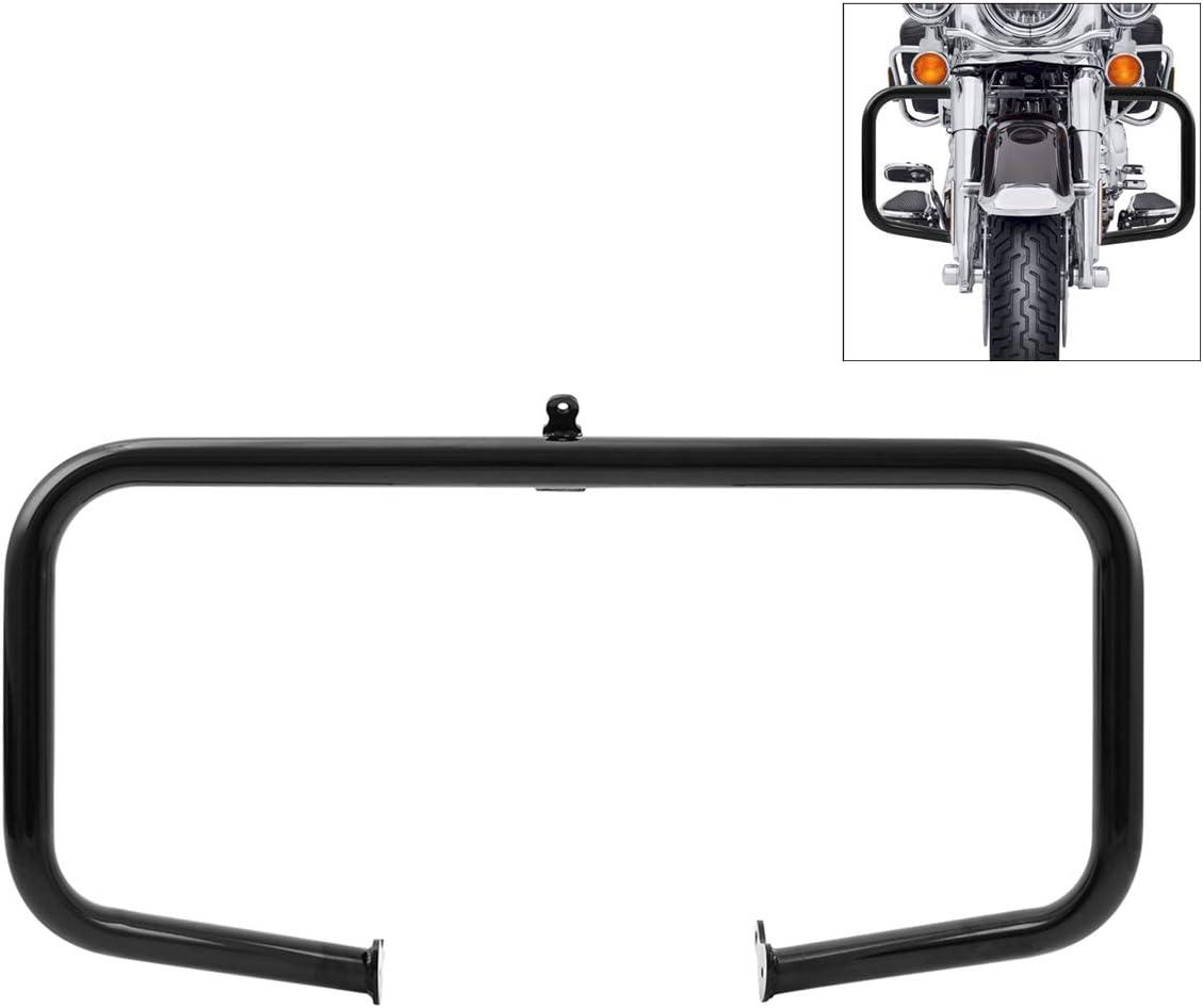 XMT-MOTOR 32mm Crash Bar di Protezione Motore Adatto per Harley Touring Road King Electra Street Glide Trike 2009-2020 Cromato