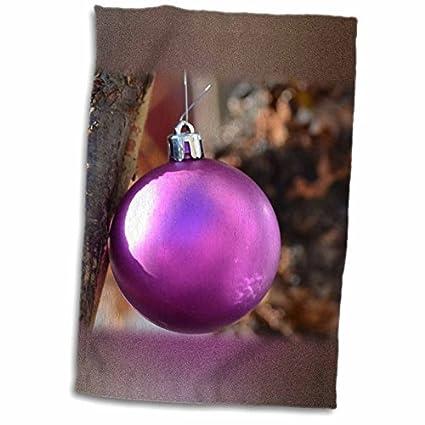 Ángel adornos Patricia Sanders Navidad – morado adorno de Navidad en un limb- fotografía –