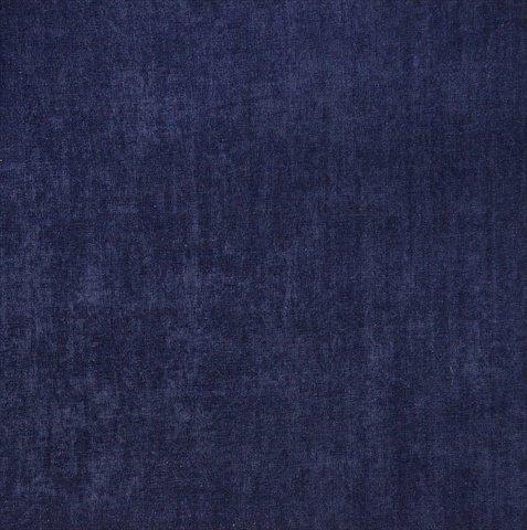 。ワイドネイビーブルーでデザイナーファブリックE161 54ポリエステルベルベット張り生地を滑らかに   B00NO7OAWK
