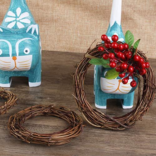 DomeStar 12PCS Grapevine Wreath, 4
