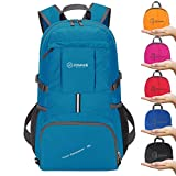 Cheap ZOMAKE Ultra Lightweight Hiking Backpack, 35L Foldable Water Resistant Travel Daypack Packable Backpack Outdoor Camping(Light Blue)