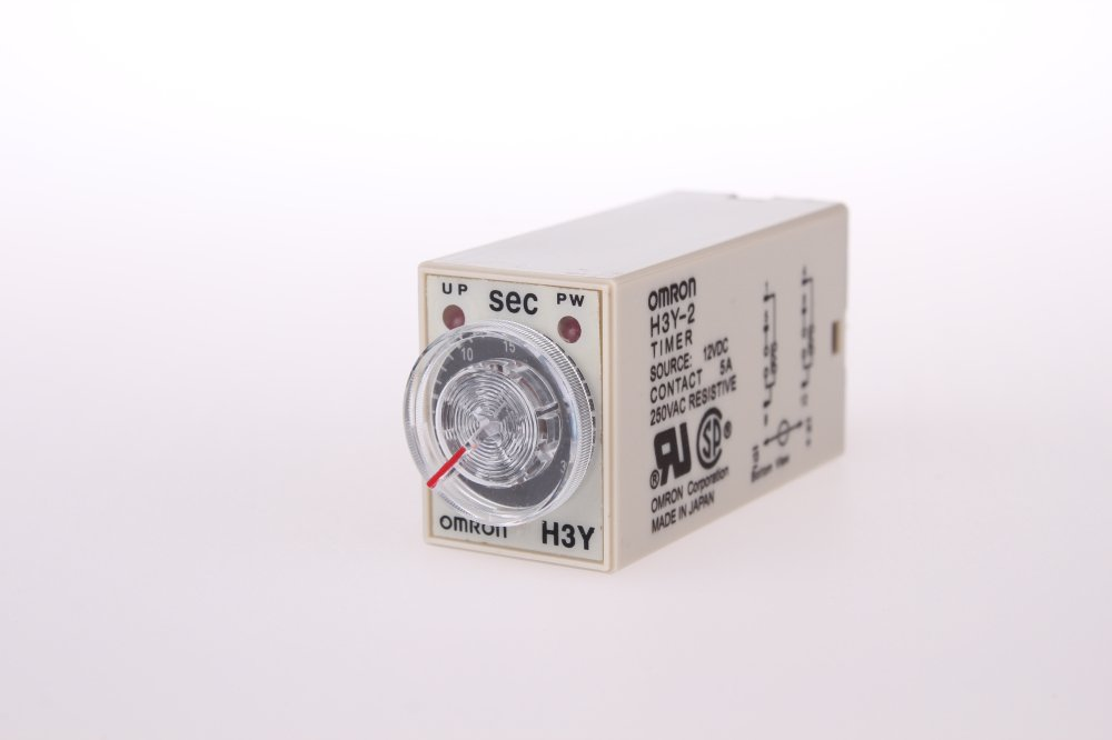 NEW  time timer relay 8pin H3Y-2 H3Y DC12V  5A  1.0-30Seconds 30S