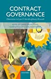Contract Governance : Dimensions in Law and Interdisciplinary Research, Grundmann, Stefan and Möslein, Florian, 0198723202