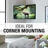 "Sanus Full-Motion TV Wall Mount for 32"" to 80"" TVs Extends 14.6"" & Single Stud Install - Bracket fits Most LED, LCD, OLED, and Plasma Flat Screen TVs w/VESA Patterns up to 600 x 400 - OLF15-B1"