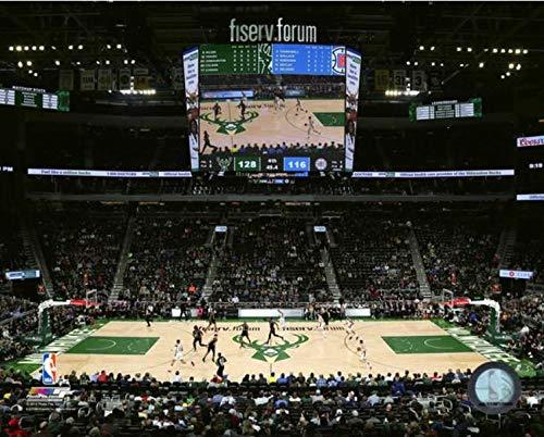 Fiserv Forum Milwaukee Bucks 2018-2019 NBA Stadium Photo (Size: 16