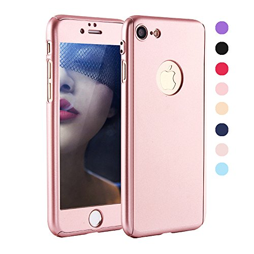 greenelec-iphone-7-plus-case-ultra-thin-360-all-round-protective-hard-hybrid-plastic-slim-cover-with