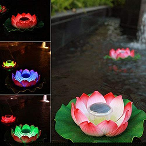 (Blueseao Solar Floating Lights Waterproof LED Floating Night Lights for Swimming Pool or Pond Decoration)