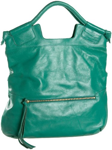 Foley + Corinna Mid City Tote,Emerald,one size (Foley Corinna Handbags Mid City Tote)
