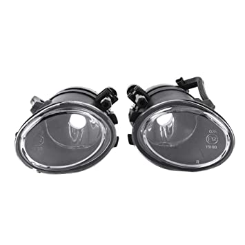 1 Paar Autofahrer Linke rechte Sto/ßstange vorne Nebelscheinwerfer Lampe f/ür BMW 3er E39 E46 M3 2001-2006. Outbit LED-Nebelscheinwerfer