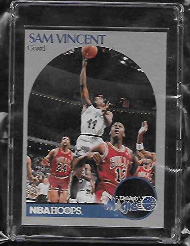 436a02feb7ec4 Amazon.com: Sam Vincent 1990 NBA Hoops Basketball Card # 223 ...