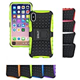 iPhone X Stand Case, HLCT Rugged Shock Proof