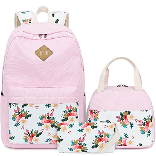 BLUBOON Teens Backpack Set