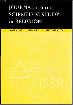 Journal for the Scientific Study of Religion, September 2008 (Volume 47, No. 3)