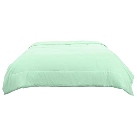 buy popular e544a 5c59a Sourcingmap Queen verde chiaro 100% cotone lavato Quilted ...