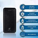 AMYTEL 20000 mAh Li- Polymer Plastic Design Power Bank, 2.1A Dual Inputs (Type C + Micro USB) and 2.1A Dual Outputs (USB…