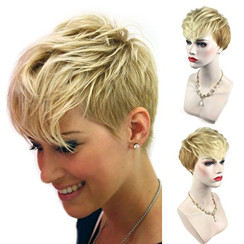Ombre Wigs for Women Foviza Pixie Cut Short