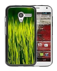 New Beautiful Custom Designed Cover Case For Motorola Moto X With Summer Grass Macro Phone Case