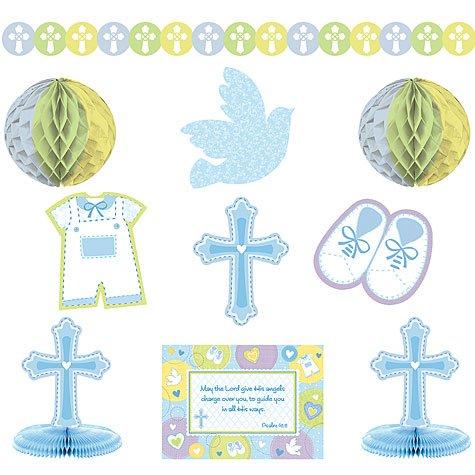 Sweet Christening Blue Decorating Kit