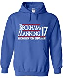 """The Silo BLUE New York Odell """"Manning 17"""" Hooded Sweatshirt"""