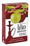 vape pen 35 - Mazaya Shisha Molasses Premium Flavors 100g For Hookah NonTobacco (Double Apple/Two Apple)