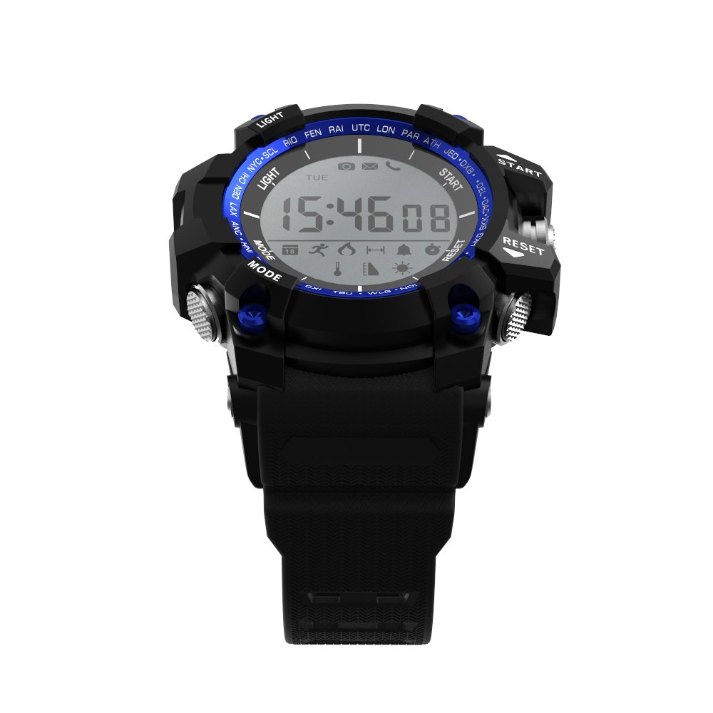 Leotec Blue Mountain Smart Watch Armbanduhr: Amazon.es: Deportes y aire libre