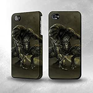 Apple iphone 5c Case - The Best 3D Full Wrap iPhone Case - Alien Monster