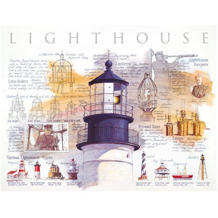 connotación de lujo discreta Dahl Taylor Lighthouse Diagram 500pc 500pc 500pc Jigsaw Puzzle by SunsOut  servicio de primera clase