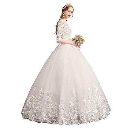 Vestiti Da Sposa Fai Da Te.Autunno E Inverno Parola Spalla Sognante Auto Coltivazione Maniche
